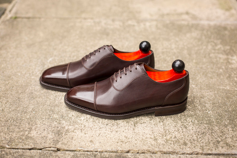 Yesler - MTO - Coffee Calf - MGF Last - City Rubber Sole
