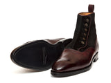 Westlake - MTO - Plum Museum Calf / Black Suede - NGT Last - Double Leather Sole