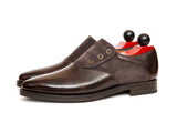 Aurora - MTO - Dark Brown Museum Calf / Dark Brown Suede - JKF Last - Double Leather Sole