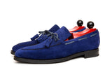 Issaquah - MTO - Vivid Blue Suede - MGF Last - City Rubber Sole