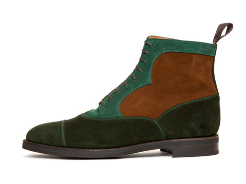 Lakebay - MTO - Forest Suede / Bottle Green Suede / Snuff Suede