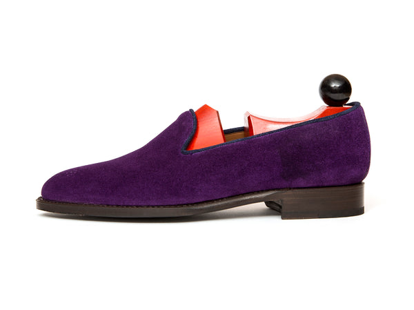 Laurelhurst - MTO - Purple Suede - TMG Last - Single Leather Sole