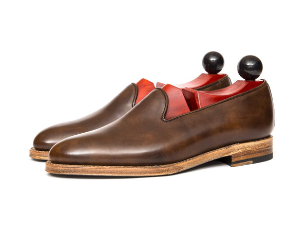 J.FitzPatrick Footwear - Laurelhurst II - Copper Museum Calf - TMG Last - Natural Sole