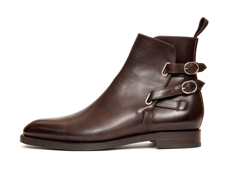 Genesee - MTO - Dark Brown Museum Calf - NGT Last - Double Leather Sole