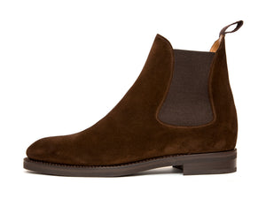 Alki - MTO - Dark Brown Suede