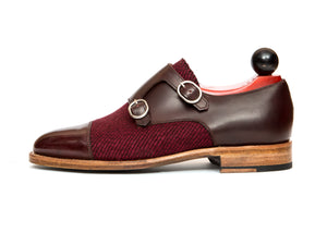 Kent - MTO - Burgundy Calf / Red Poulsbo