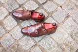 Kent - MTO - Walnut Museum Calf - TMG Last - Single Leather Sole
