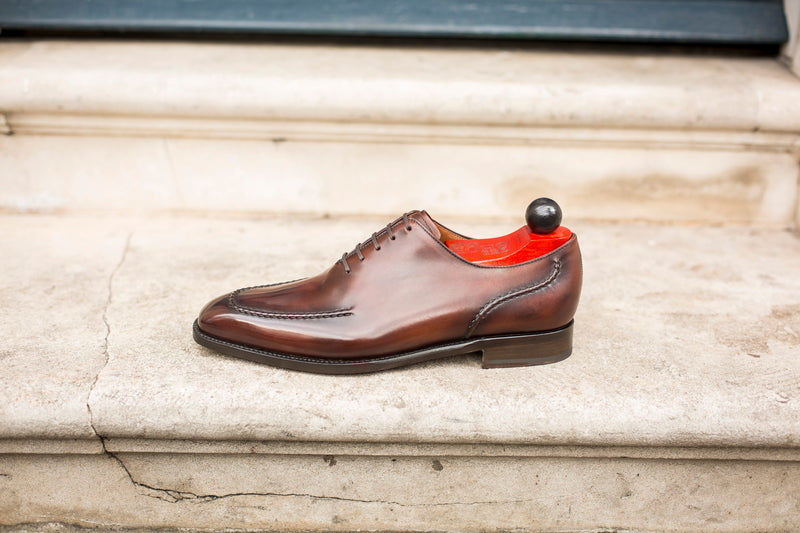 Whittier - MTO - Shaded Brown Calf - LPB Last - Single Leather Sole