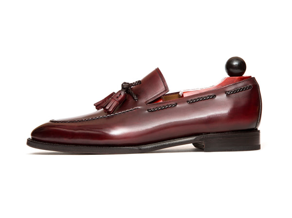 Issaquah - MTO - Burgundy Calf - LPB Last - Single Leather Sole