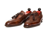 Issaquah - MTO - Walnut Museum Calf - LPB Last - Antique Single Leather Sole
