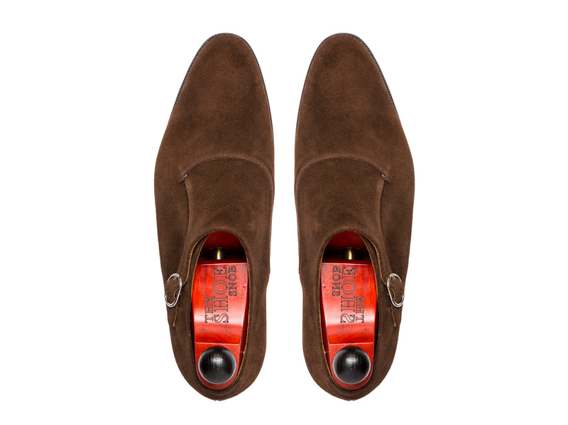 Madrona - MTO - Dark Brown Suede - NGT Last - Single Leather Sole
