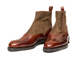 Westlake - MTO - Gold Museum Calf / Gold Tweed - NGT Last - Double City Rubber