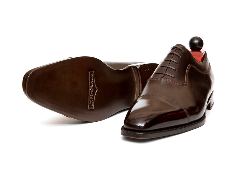 Woodway - MTO - Dark Brown Museum Calf - LPB Last - Single Leather Sole
