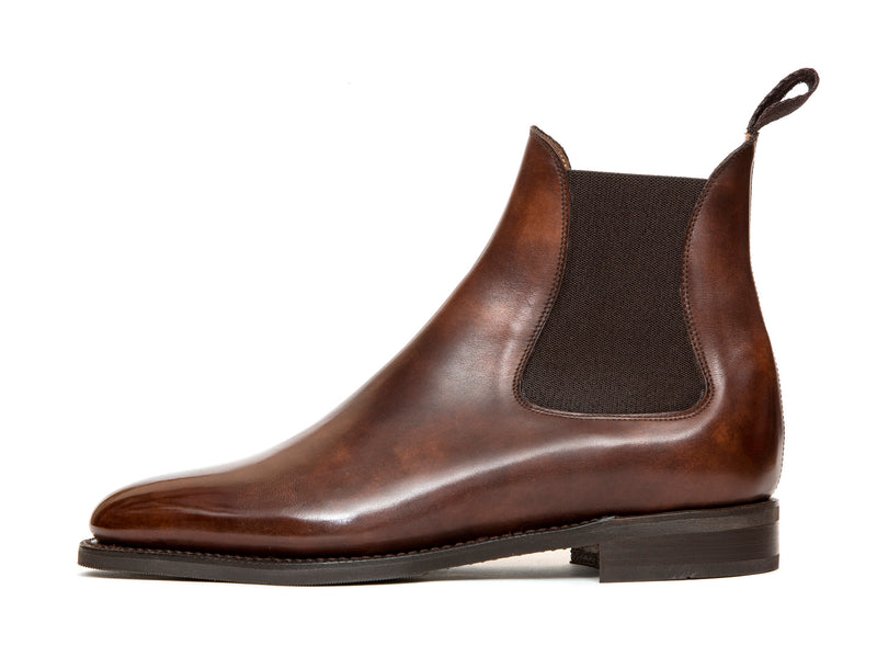 Alki - MTO - Walnut Museum Calf - TMG Last - City Rubber Sole