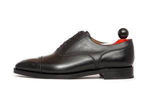 Dravus - MTO - Black Calf - MGF Last - Double Leather Sole