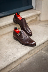 Kent - MTO - Dark Brown Museum Calf - TMG Last - Double Leather Sole