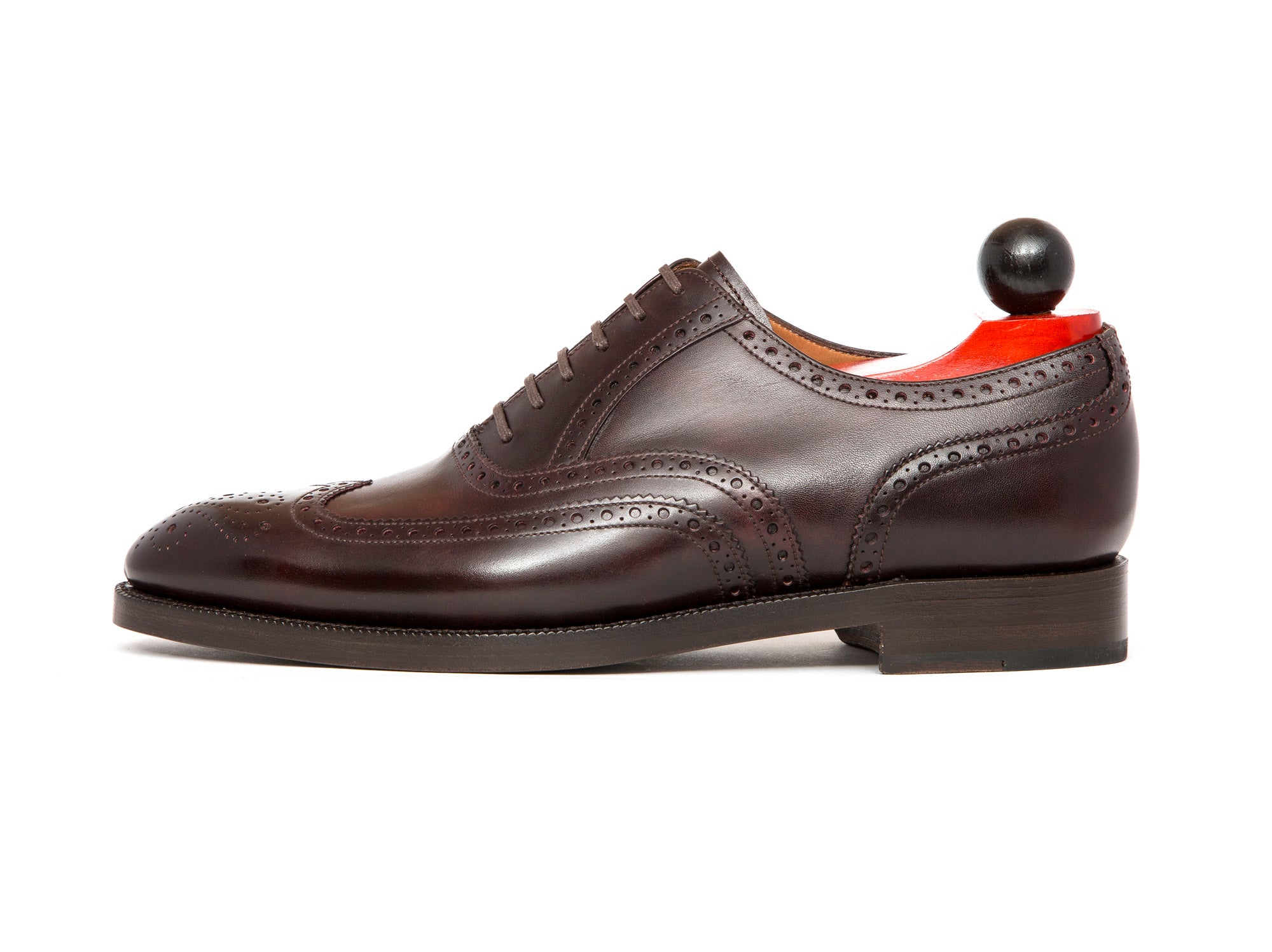 McClure - MTO - Plum Museum Calf - NGT Last - Double Leather Sole