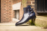 Genesee - MTO - Navy Museum Calf - NGT Last - Double Leather Sole