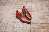 Palacio - MTO - Gold Museum Calf - MGF Last - Single Leather Sole