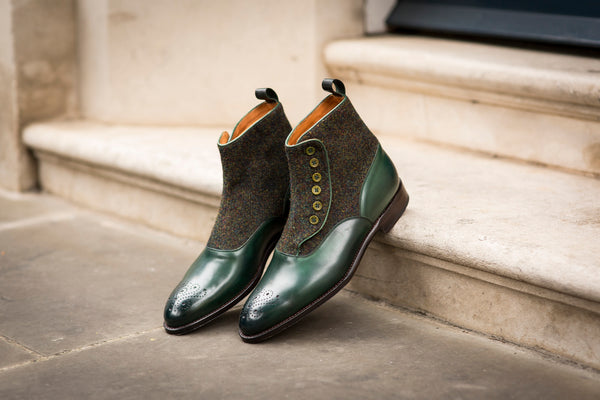 Westlake GMTO - Forest Green Calf / Moss Green Medley Tweed - NGT Last