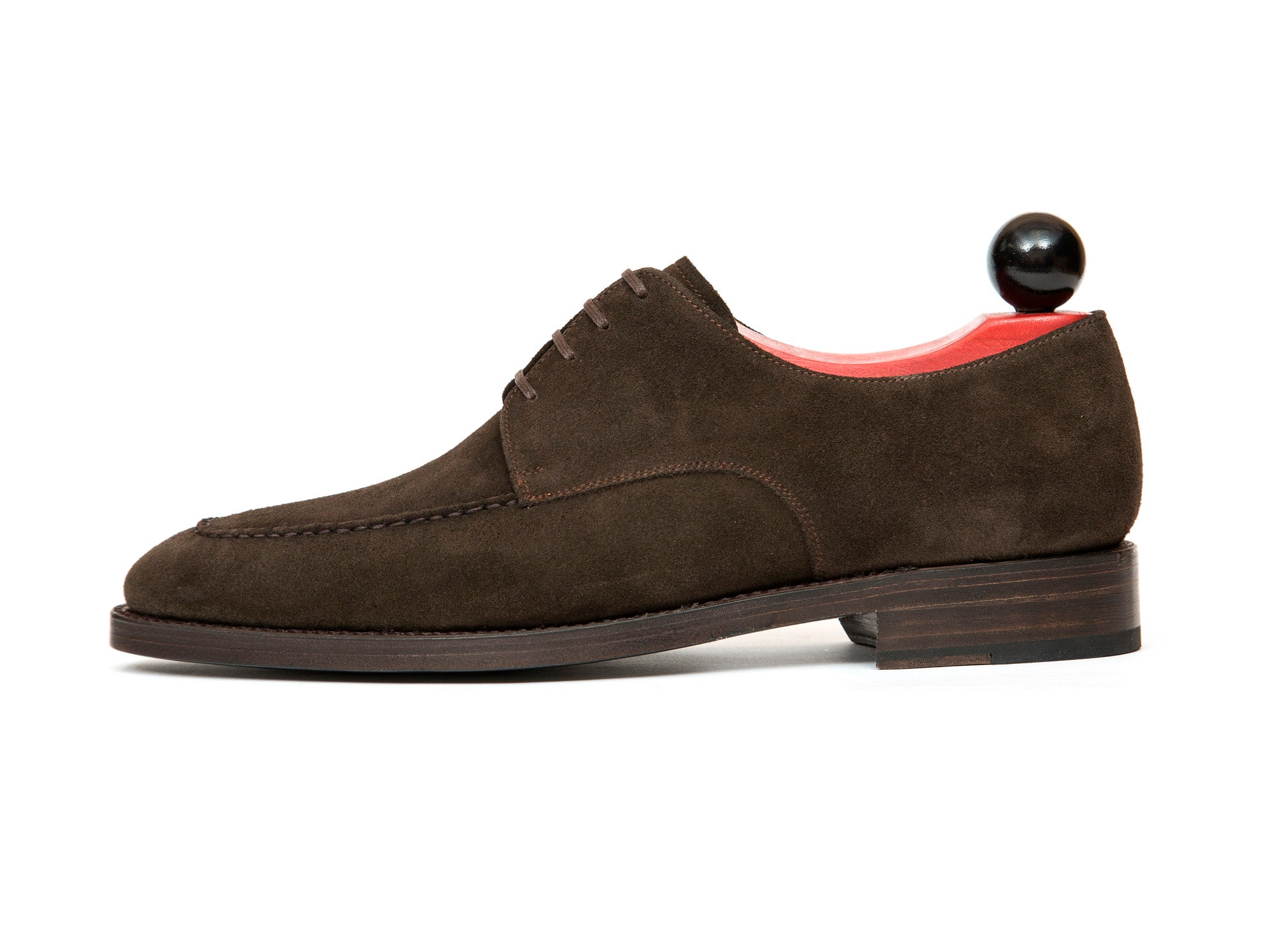 Lynwood - MTO - Bitter Chocolate Suede - Double Leather Sole