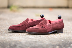 Madison GMTO - Burgundy Suede - TMG Last