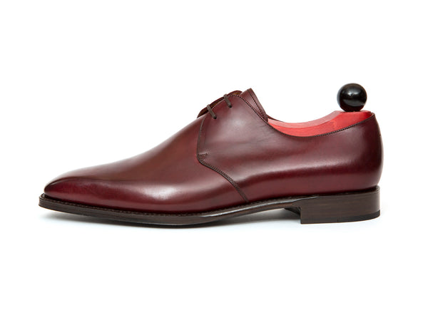 Fremont - MTO - Burgundy Calf - MGF Last - Single Leather Sole