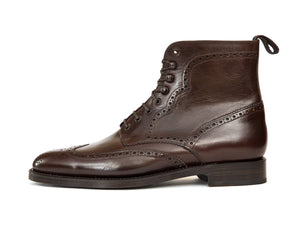 J.FitzPatrick Footwear - Holman - Dark Brown Chromexcel - TMG Last - Double Leather Sole