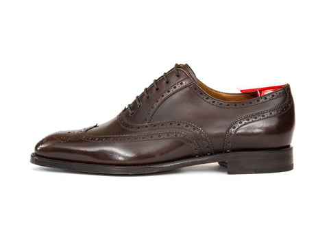 J.FitzPatrick Footwear - McClure - Antique Brown Calf - TMG Last