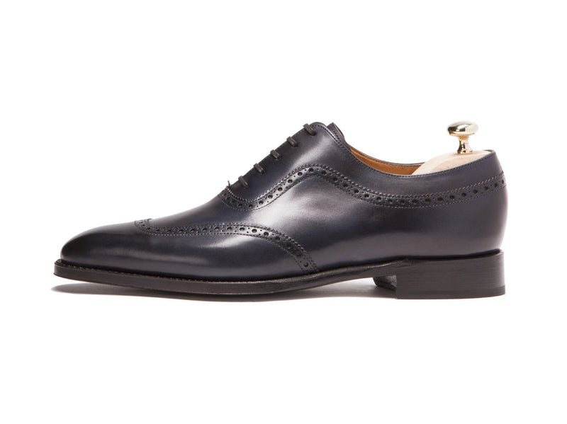 J.FitzPatrick Footwear - Medina - Shaded Navy Calf - LPB Last