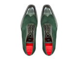 J.FitzPatrick Footwear - Rainier III Forest Green Calf / Forest Green Suede - LPB Last