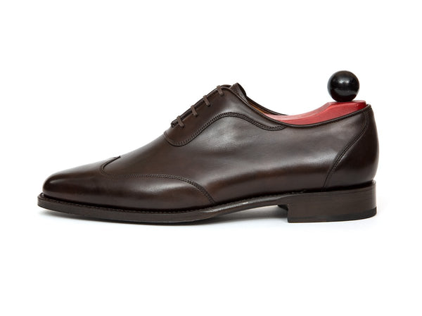 J.FitzPatrick Footwear - Rainier - Dark Brown Museum Calf - JKF Last