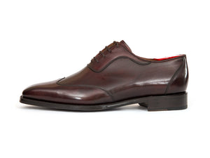 J.FitzPatrick Footwear - Rainier - Shaded Merlot Calf - MGF Last