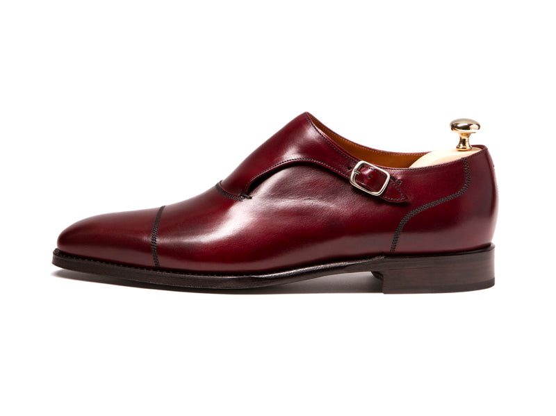 Fauntleroy - MTO - Burgundy Calf - LPB Last - Single Leather Sole