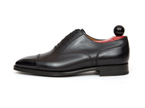 J.FitzPatrick Footwear - Magnolia - Shaded Black Calf - TMG Last