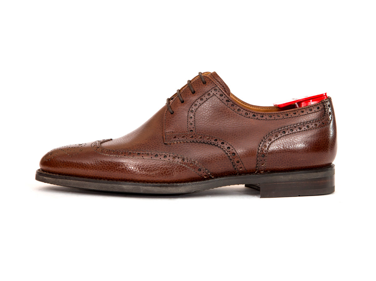 Northgate - MTO - Mid Brown Soft Grain - City Rubber Sole