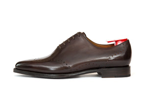 J.FitzPatrick Footwear - Tony - Shaded Dark Brown Calf - JKF Last