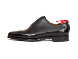 J.FitzPatrick Footwear - Tony - Shaded Black Calf - JKF Last