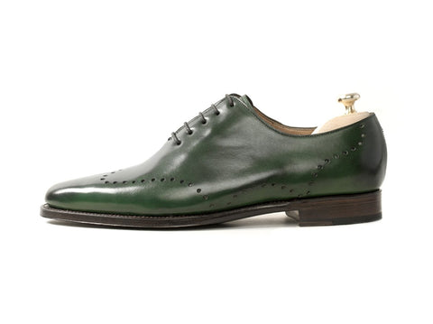 J.FitzPatrick Footwear - Tony - Forest Green Calf - JKF Last