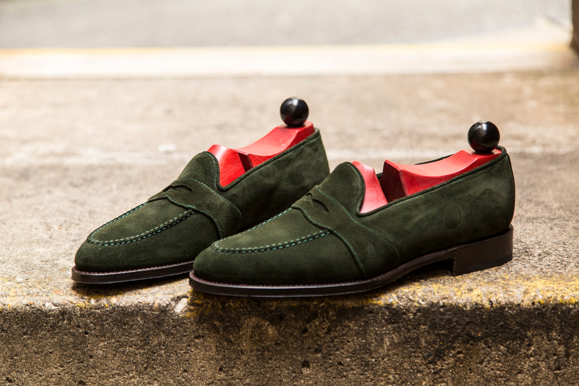 Madison GMTO - Forest Green Suede - TMG Last