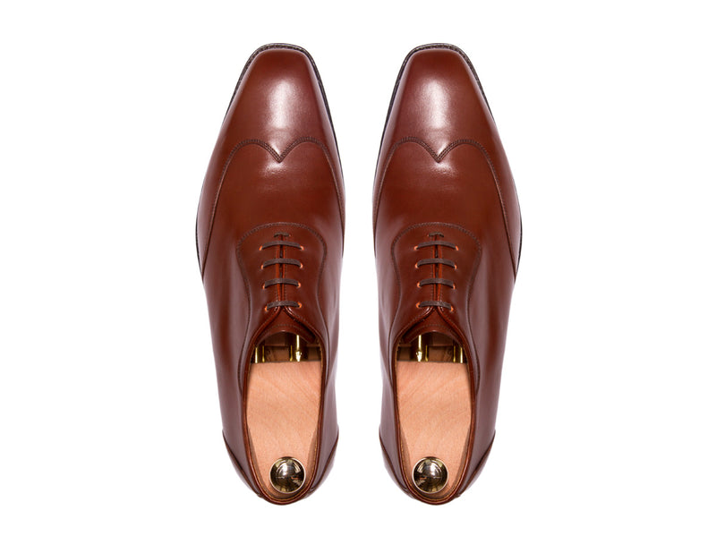 Rainier - MTO - Cacao Calf - MGF Last - Single Leather Sole