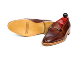 Pike - MTO - Gold Museum Calf - TMG Last - Natural Single Leather Sole