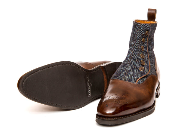 Westlake - MTO - Copper Museum Calf / Blue Tweed