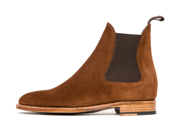 Alki - MTO - Snuff Suede - TMG Last - Natural Single Leather Sole