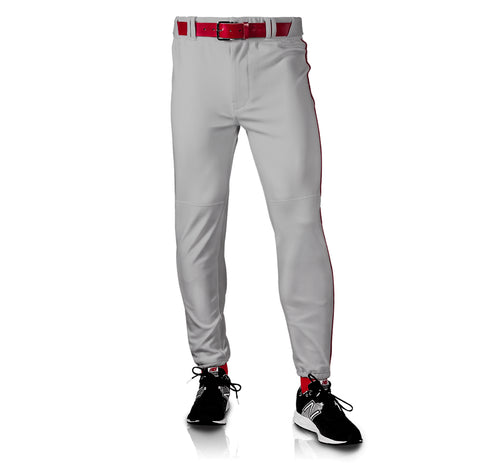 Men's Nylon Traditional Pants - Gray