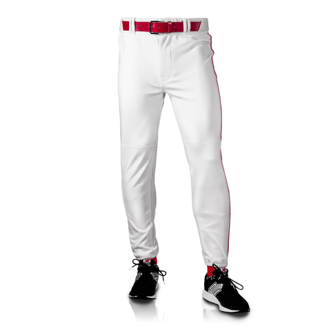 Men's Nylon Traditional Pants - White