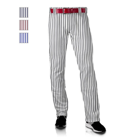 Men's Polyester Clemson Royal Pinstripe Baseball Pant