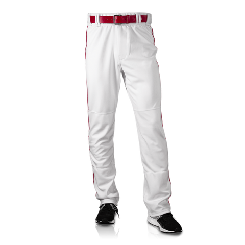 Men's Polyester Clemson Pants - White