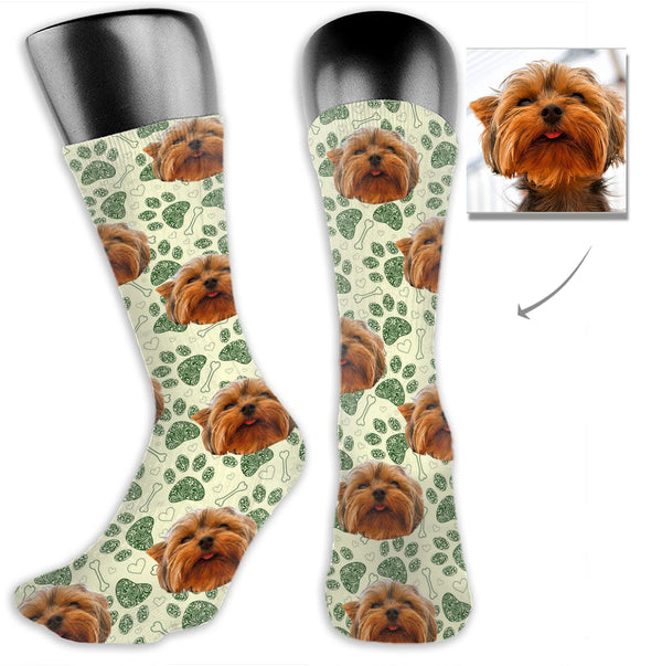 Custom Pet Dog Cute Socks - Lotjog