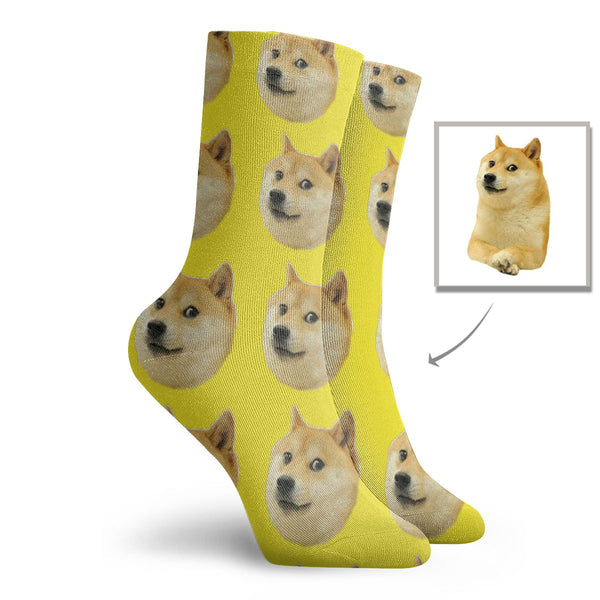 Custom Pet Dog Socks - Lotjog